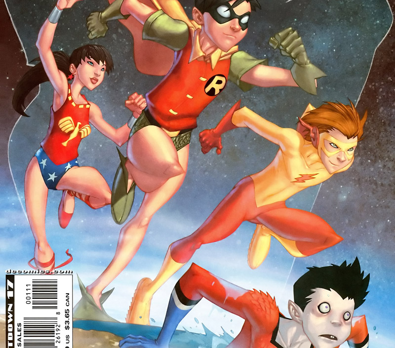 conver of Teen Titans Year One #1