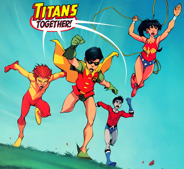panel from Teen Titans: Year One #6