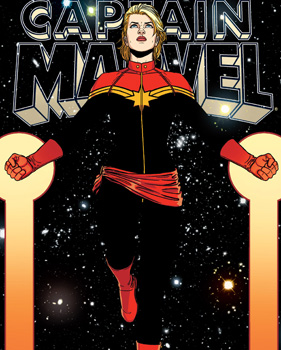 cover of Caotain Marvel #9