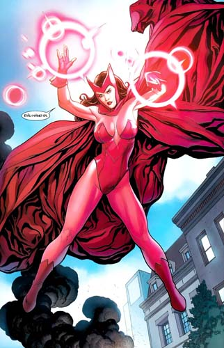 panel of Scarlet Witch