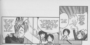 Love Hina Book 5 - Kitsune Reeks of Old-man-ness