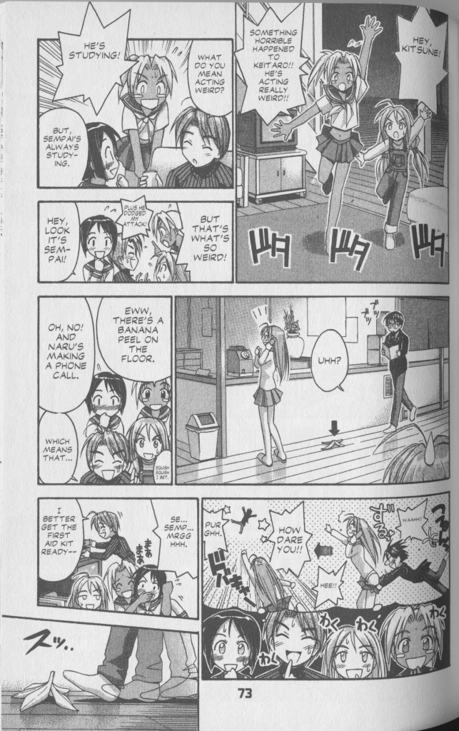 Love Hina Book 7 - Keitaros Luck Changes Because Hes Studying So Hard 1
