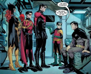 The Bat Family Minus Alfred