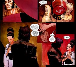 Wolverine: Logan #1 – Atsuko tells Wolverine about her father.
