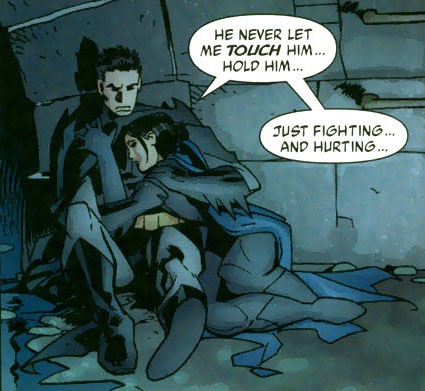 panel from Batgirl #50