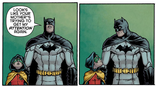 panel from Batman Incorporated #1