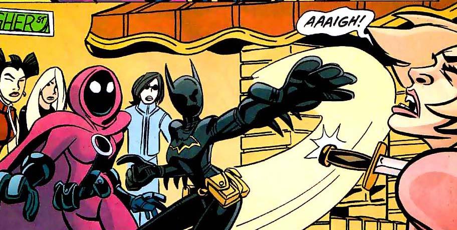 panel from Batgirl #38