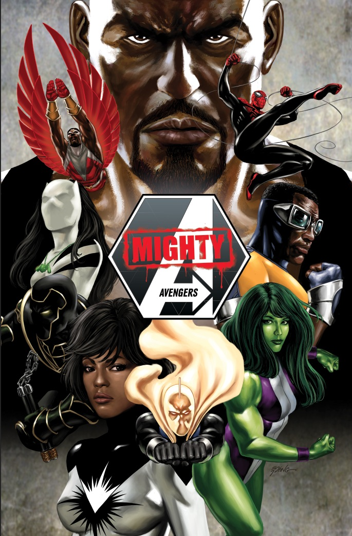 Mighty Avengers v2 Promotional Artwork: Not your usual team.