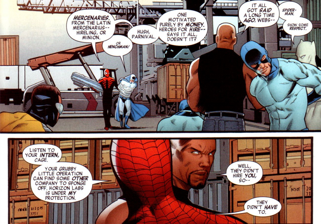 Mighty Avengers v2 #1: Heroes or mercenaries?