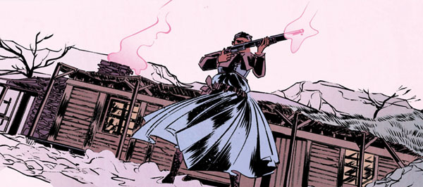Pretty Deadly #1: Sarah is my hero.