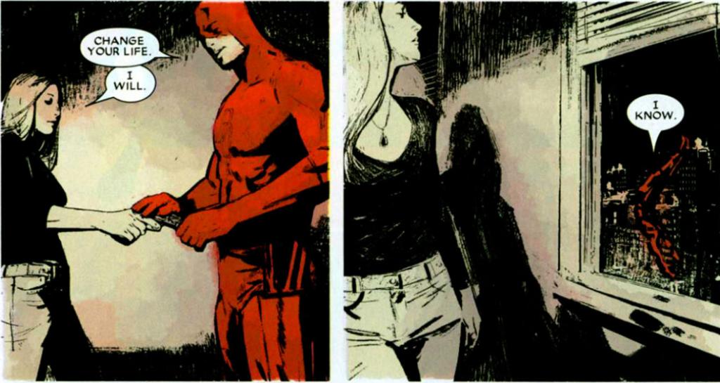 Daredevil v2 #71: Change your life.