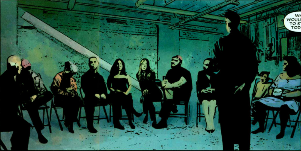 Daredevil v2 #71: The support group.