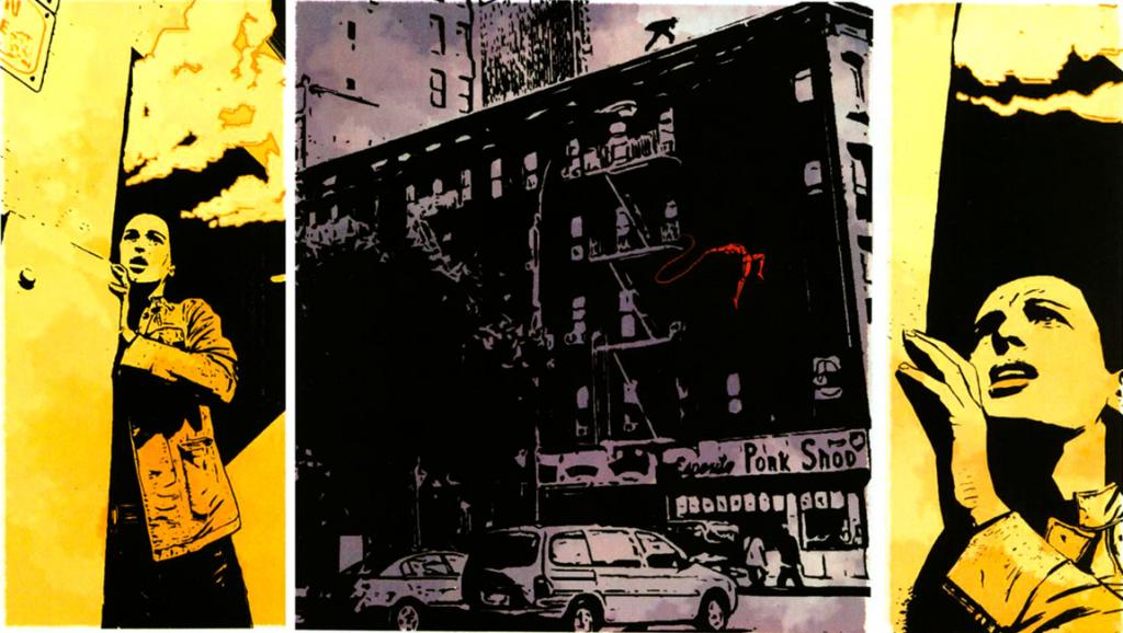 Daredevil v2 #73: Amazing coloring.