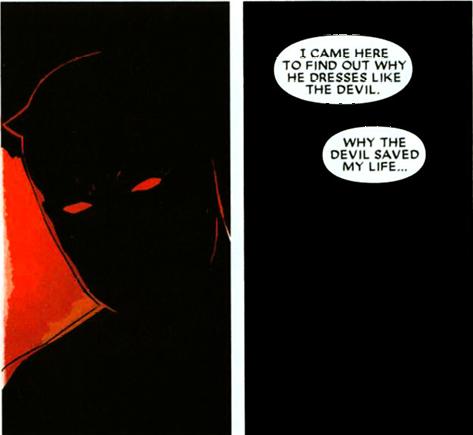 Daredevil v.2 #73: Why a devil?