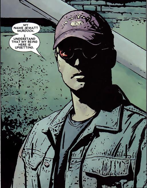 Daredevil v2 #75: Matt was there all along.