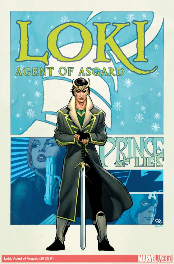 "Loki: Agent of Asgard #1: Loki is ""sexier"" than ever before."