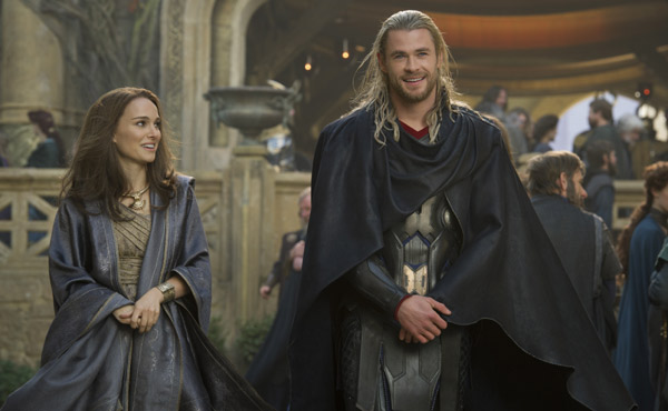 Thor: The Dark World: Jane's clothing is anything but revealing.