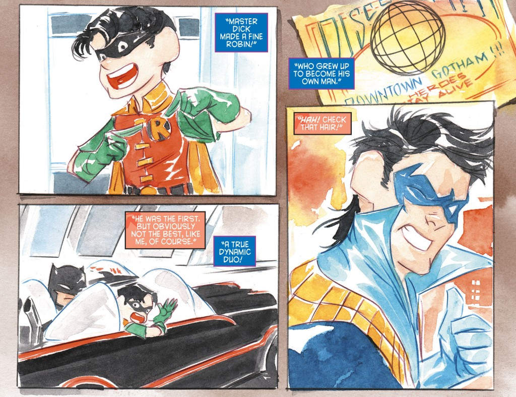 Dustin Nguyen (from Li'l Gotham #24)