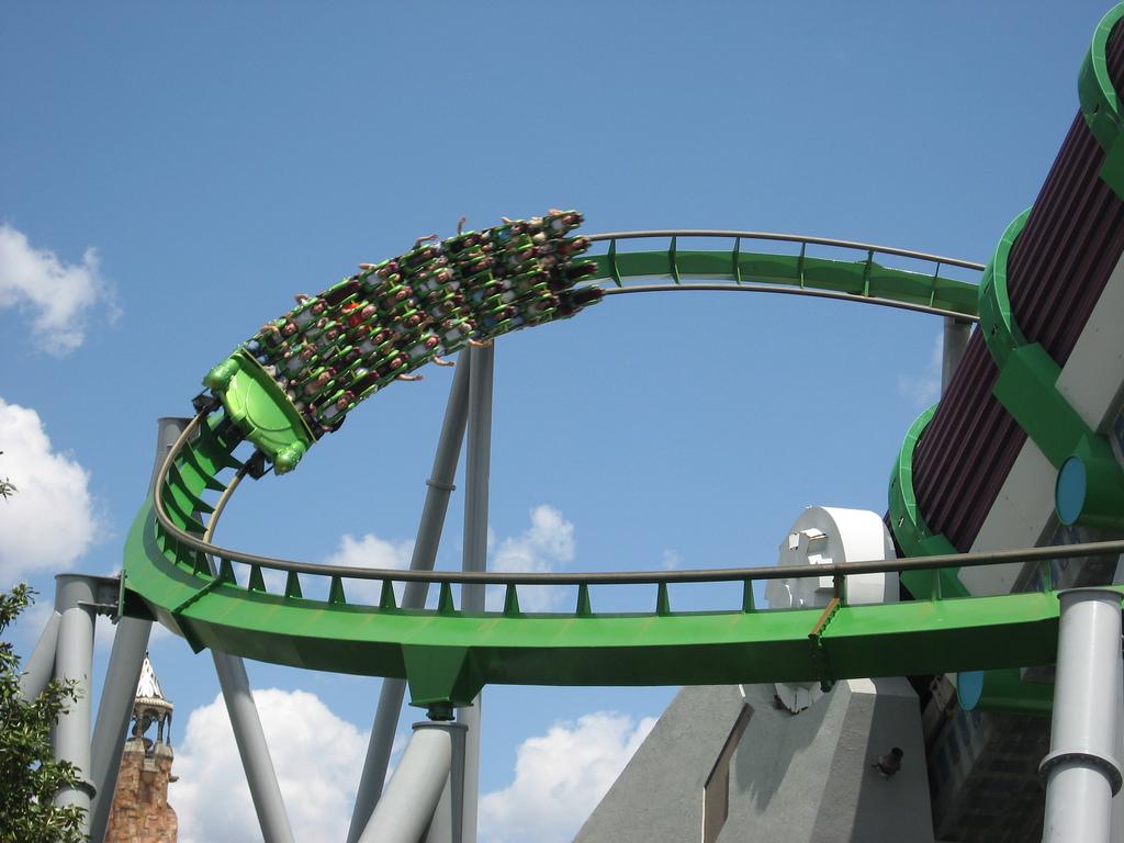 Hulk Rollercoaster by legoyodax