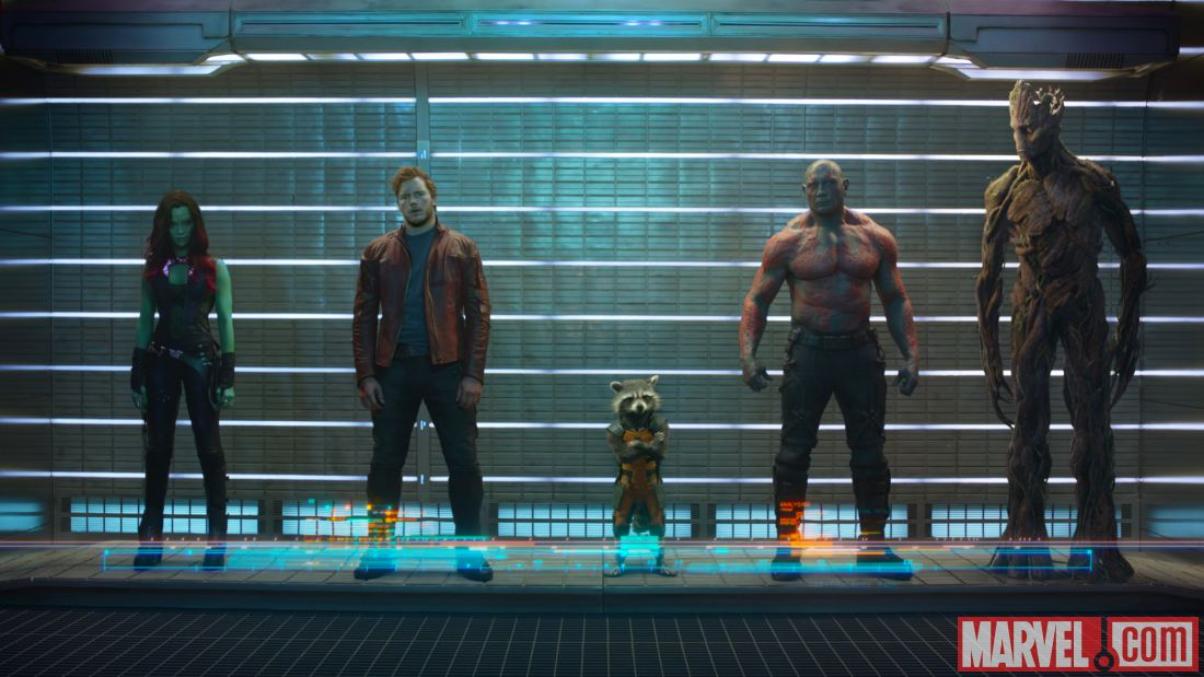Guardians of the Galaxy promotional image: Will audiences connect with these characters?