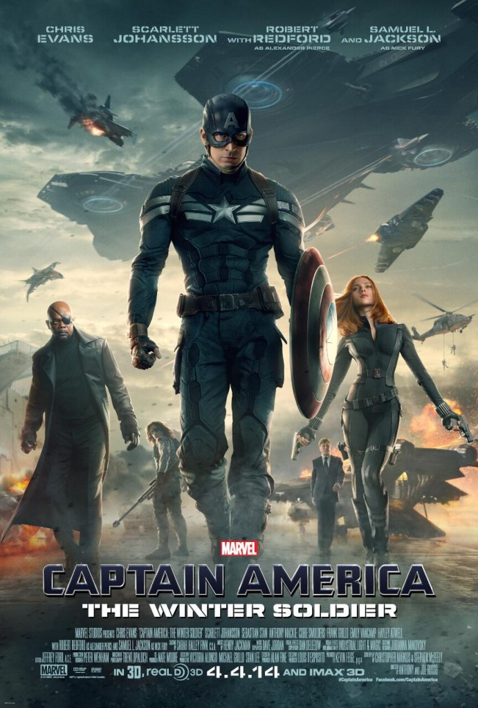 Captain America: The Winter Soldier poster: Marvel is keeping the Winter Solder mysterious even on the posters.