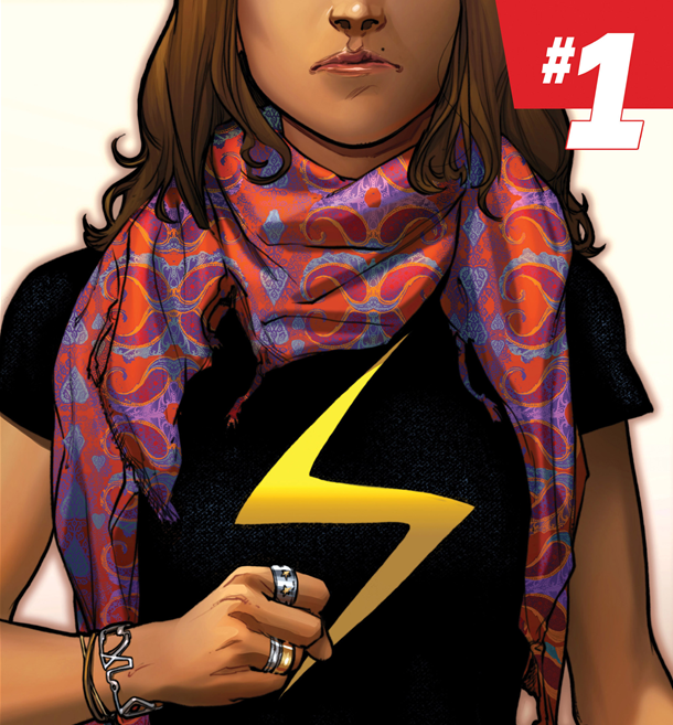 comic pow - ms. marvel cover