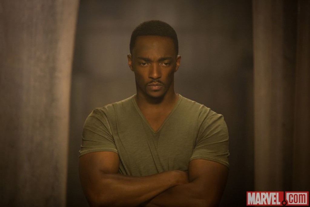 Captain America: The Winter Soldier promotional image: Falcon will get his cinematic debut.