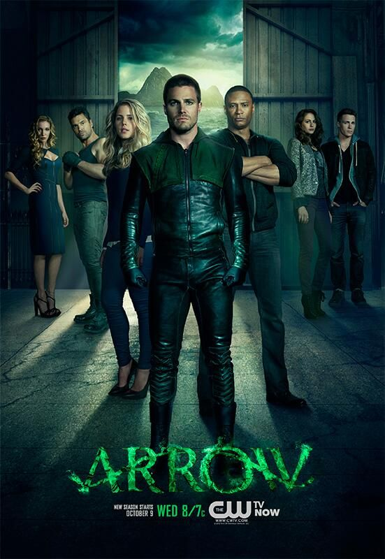 Arrow Promotional Poster: Oliver Queen and company.