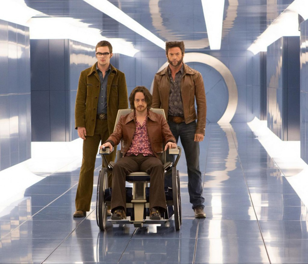X-Men: Days of Future Past promotional pic: Professor X is groovy.