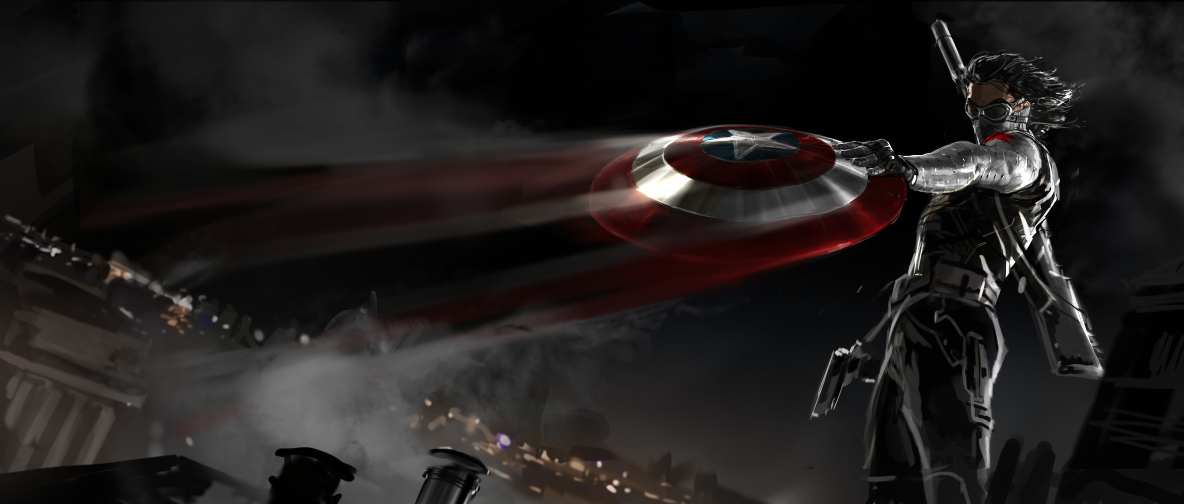 Captain America: The Winter Soldier concept art 2