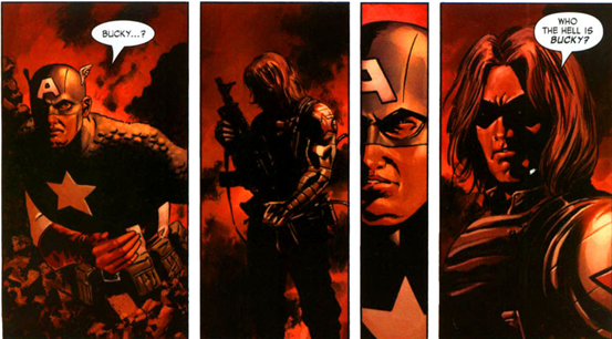 Captain America v5 issue #8 – Who the hell is Bucky?