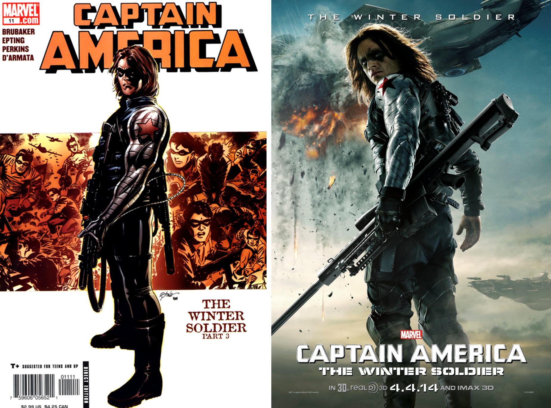 The Winter Soldier Bucky Barnes New Legacy Comic Pow