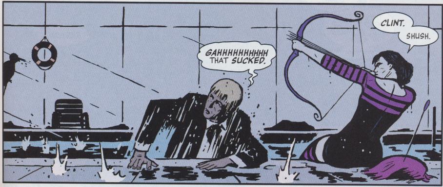 Hawkeye: Un-Avenger-like