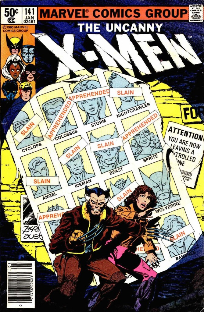 Uncanny X-Men v. 1 issue #141 – Iconic Days of Future past cover.