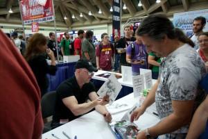 Greg Capullo at Baltimore Comic-Con 2012