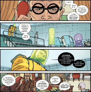 The Manhattan Projects Vol 1 - Truman and Groves (interspersed with AI creation)