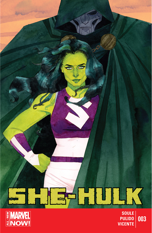 She-Hulk v.3 issue #3 – The cover of issue 3 is my favorite.