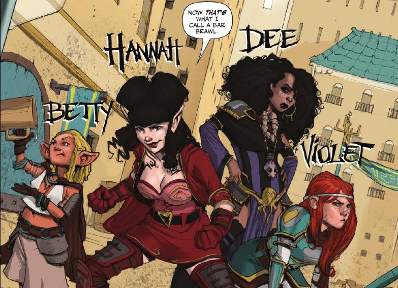 Rat Queens #1 - Introducing the Rat Queens -2