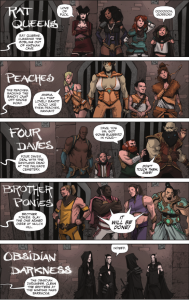 Rat Queens #1 - The Palisades Adventuring Groups