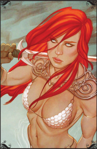 Red Sonja Issue #1 Cover