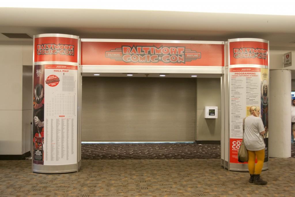 Entrance to Baltimore Comic-Con