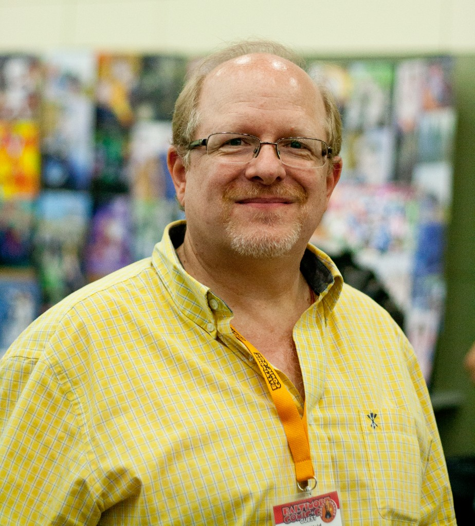 Mark Waid at Baltimore Comic-Con 2014