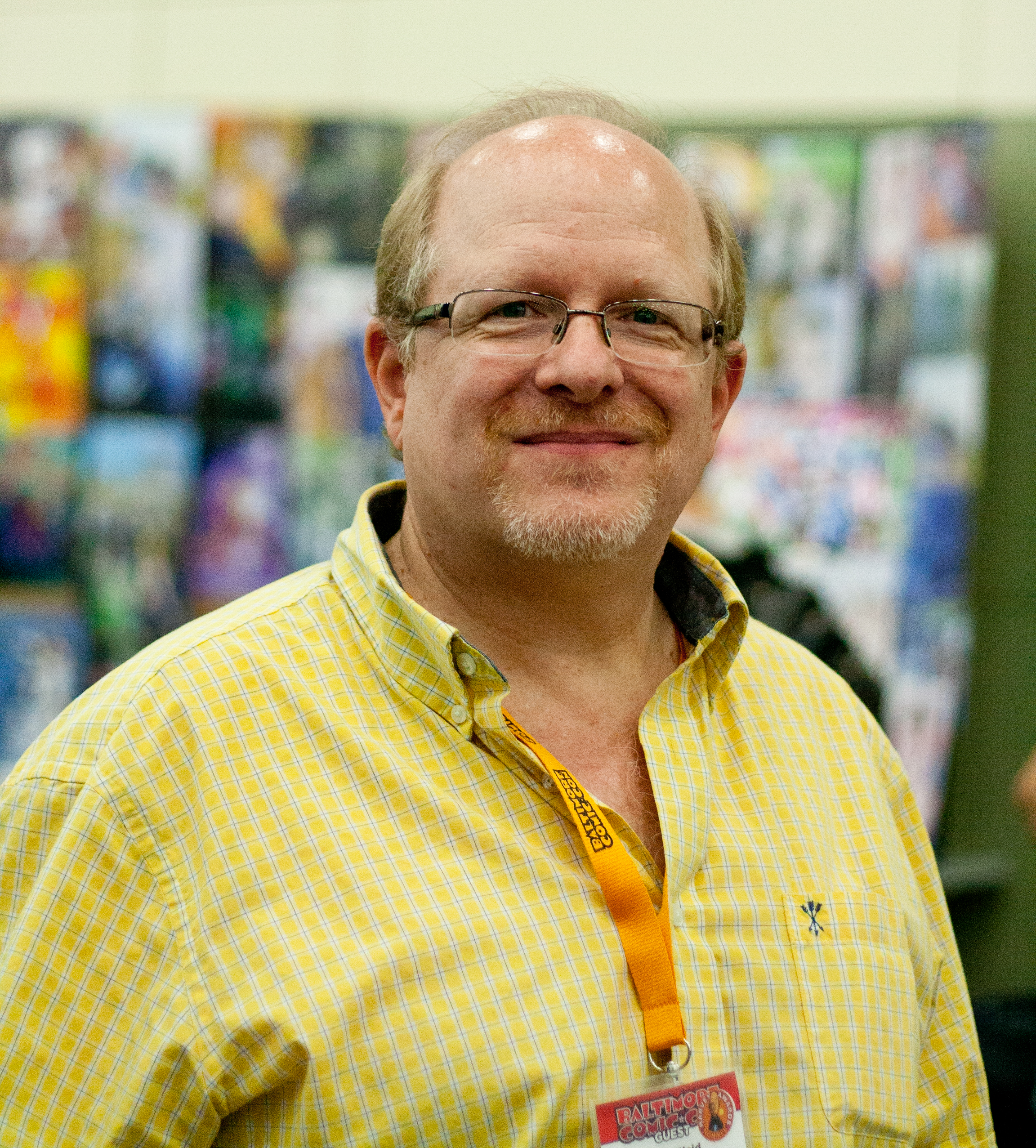 Mark Waid at Baltimore Comic-Con 2014