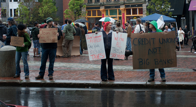 Occupy Protesters from Portland, ME