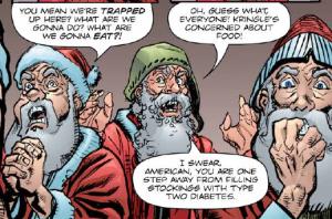 Krampus - Santa Bickering