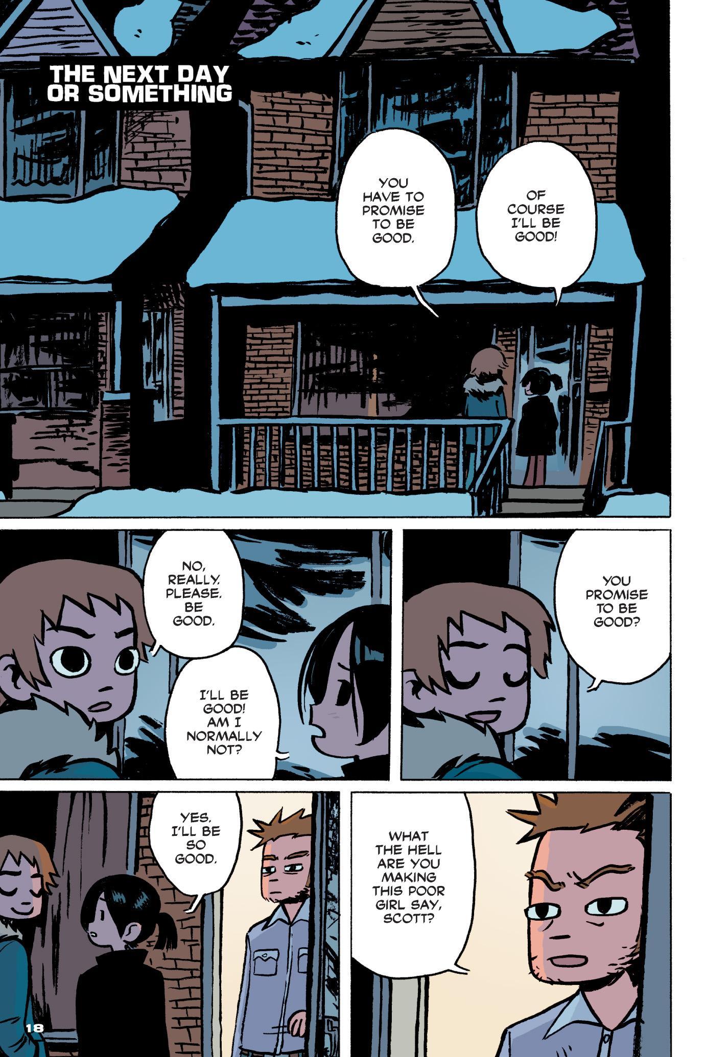 Scott Pilgrim\'s Precious Little Life (in color!) – Comic POW!