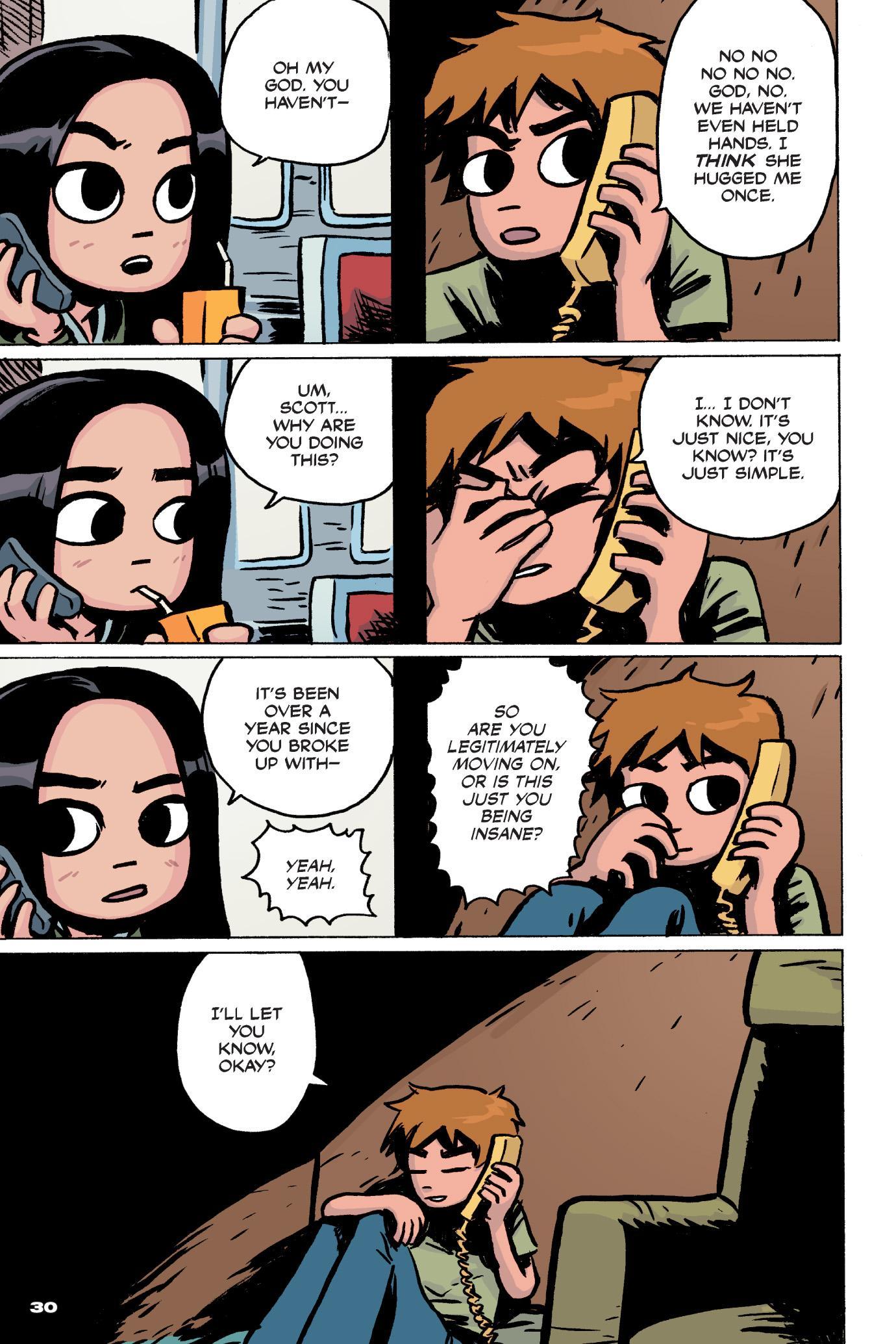Nickelodeon scott pilgrim dating a high school girl