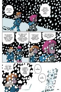 Scott Pilgrim's Precious Little Life - White Out in Color