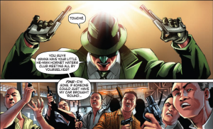 Green Hornet Vol 1 - A Lil Rascals Reference