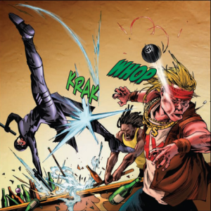 Green Hornet Vol 1 - Mulan at work